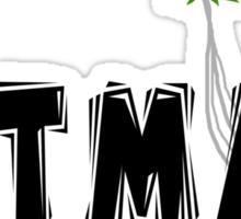 """Hitman"" Marijuana Sticker"