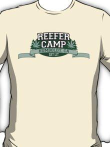 """""""Reefer Camp"""" Marijuana T-Shirt"""