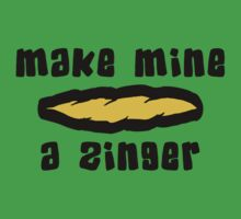 """Make Mine A Zinger"" Weed by MarijuanaTshirt"