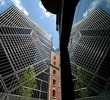 Clarence Street Reflection, Sydney, Australia 2011 by muz2142