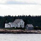 Winter Harbor Lighthouse by wallace66
