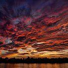 Cape Fear Sunset by David Edwards