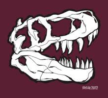T-Rex Skull by Bret Taylor