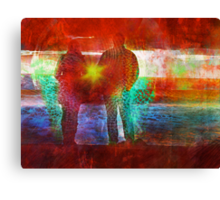 Co Creation at it's Finest  Canvas Print
