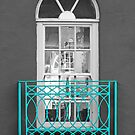 Turquoise Balcony Selective by Yampimon