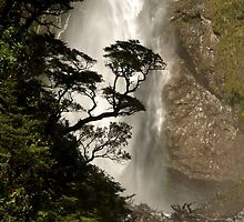 Devils Punch Bowl / Arthurs Pass National Park / New Zealand by joergilmaz