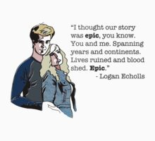 Logan + Veronica. Epic. by Melissa Gaggiano
