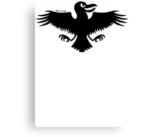 Halloween Naughty Crow Canvas Print