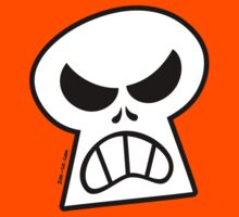 Angry Halloween Skull by Zoo-co