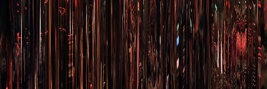 Moviebarcode: Sequence from Dusk Till Dawn (1996) Table dance by moviebarcode