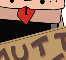 Dumb and Dumber - Mutts Cutts  Sticker