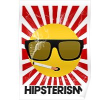 HIPSTERISM (SERIES) [red/black] Poster