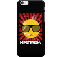 HIPSTERISM (SERIES) [red/white] iPhone Case/Skin