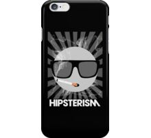 HIPSTERISM (SERIES) [Black] iPhone Case/Skin