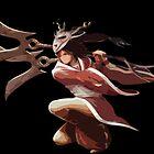 League of Legends Akali by JellyBeanie