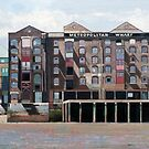 Metropolitan Wharf, 2006 (oil on canvas) by Bridgeman Art Library