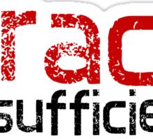 God's Grace is Sufficient 2 Corinthians 12:9 Sticker