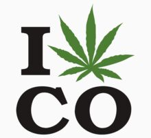 I Marijuana Colorado by MarijuanaTshirt