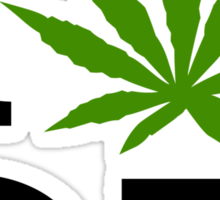 I Marijuana Oregon Sticker