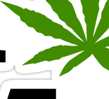 I Marijuana Massachusetts Sticker