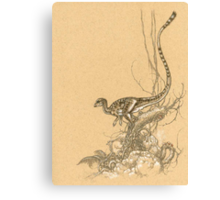 Leaellynasaura Canvas Print
