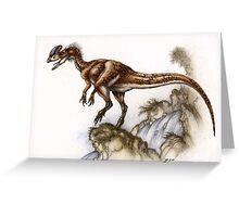 'Crown Dragon' Greeting Card
