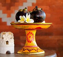 Bali Offering 2 by Maree Costello