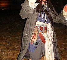 Captain Jack Sparrow In Sleepy Hollow by Jane Neill-Hancock