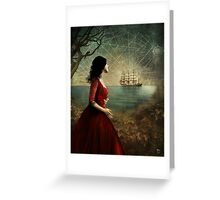 the sailor's wife Greeting Card