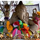 Lord Ganesha Shrine by phil decocco