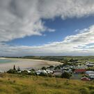 View overlooking Stanley, Tasmania, Australia. by Roger Neal