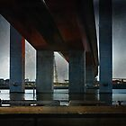 Under the Bridge, 2010 by Liza Clements