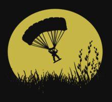 Parachuting down to earth.. T-Shirt