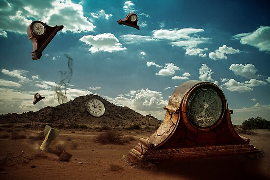 Time flies except when it doesn't by Randy Turnbow