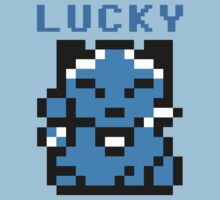 8BIT LUCKY CAT by John King III