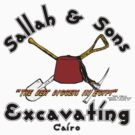 Sallah and Sons Excavating Front by AngryMongo