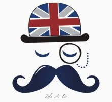 Like A Sir - Moustache Design by xFreshGFX