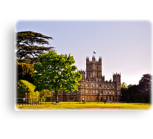 Highclere Castle Canvas Print