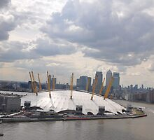 The O2 arena by gabriellaksz