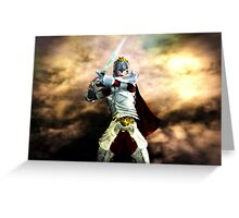 Soldier Of The God Greeting Card