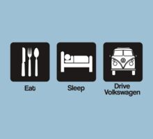 Eat, Sleep, Drive Volkswagen by gemzi-ox