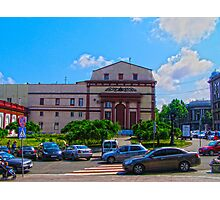 Architecture HDR Photographic Print