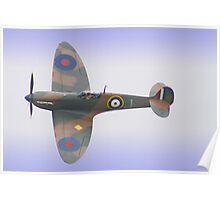 Spitfire IA P9374 - Shoreham - 2012 Poster