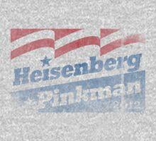 Heisenberg Pinkman Campaign Tee 2012 by breakingBlue