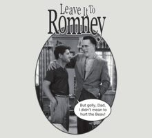 Leave it to Romney b&w by murrica