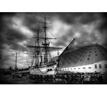 HMS Gannet  at Chatham  Photographic Print
