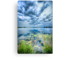 Then We Walked In The Rain Canvas Print