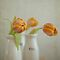 Orange Tulip Trio by Hege Nolan