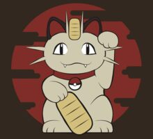Lucky Meowth by Snellby