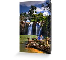 Waterfalls In Cairns Greeting Card